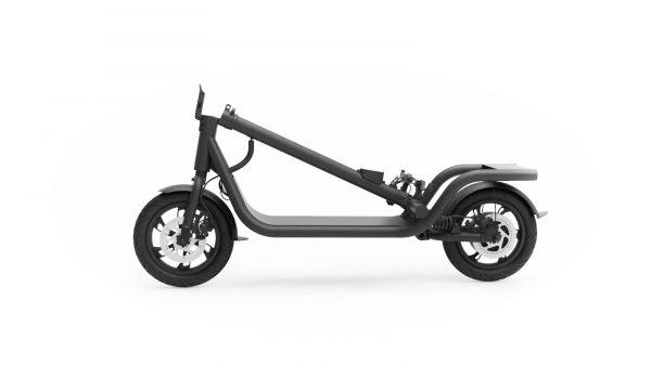 X12 pliée Flyblade Trottinette électrique